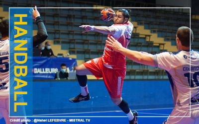 HANDBALL – UNE DÉFENSE IMPRENABLE ! – PROLIGUE- VALENCE HANDBALL/NANCY- 09/04/2021